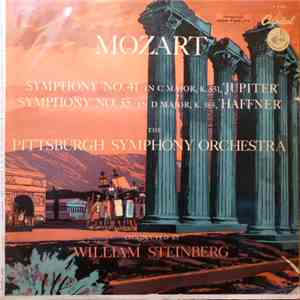 "Mozart, The Pittsburgh Symphony Orchestra, William Steinberg - Symphony No. 41 In C Major, K.551 / Symphony No. 35 In D Major, K.385 (""Haffner"") download free"
