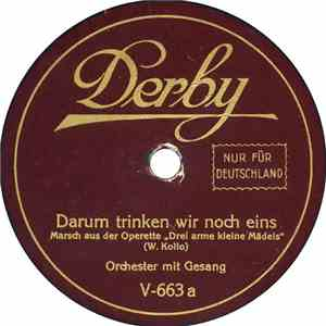 Unknown Artist - Darum Trinken Wir Noch Eins / Flundern download free